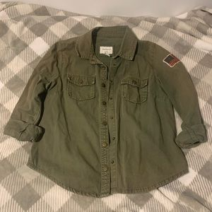 Forever 21 Utility Army Jacket